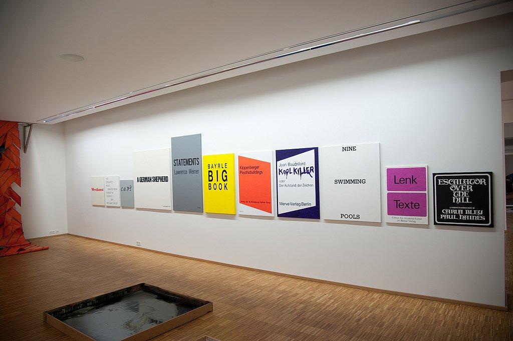 carte blanche, BBK, Kunstverein Offenburg, 2011
